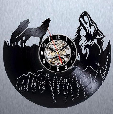 Wolf Wall Clock - 50% OFF + FREE SHIPPING
