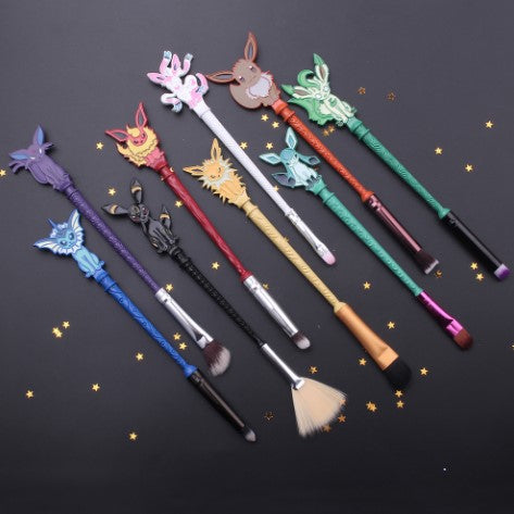 POKEMON MAKEUP BRUSHES 9 PCS SET - 50% OFF + FREE SHIPPING