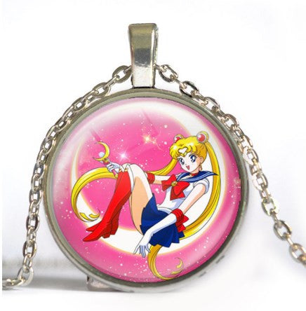 Sailor Moon Time Necklace