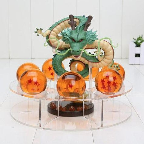 DRAGON BALL Z DRAGON SHENRON 7 CRYSTAL BALLS FIGURE - 50% OFF + FREE SHIPPING