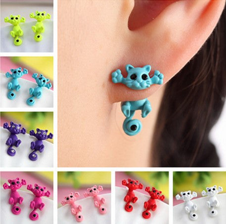 """Crazy Cat"" Earrings - 60% OFF + FREE SHIPPING"