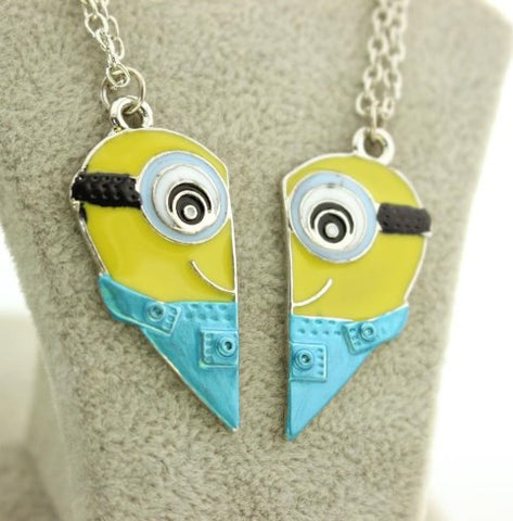 Minions Couple Necklaces - 60% OFF + FREE SHIPPING