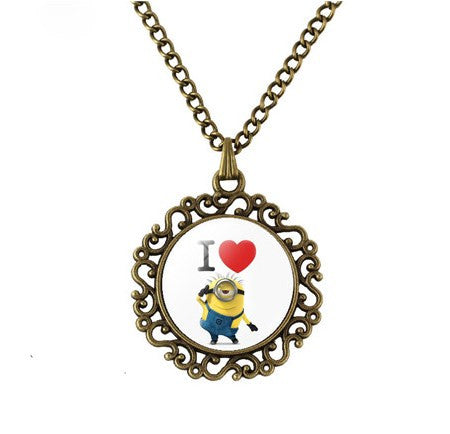 Minions Love Necklace - 60% OFF + FREE SHIPPING