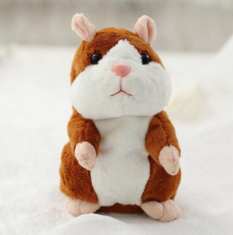 Talking Hamster Plush Toy - 50% OFF + FREE SHIPPING