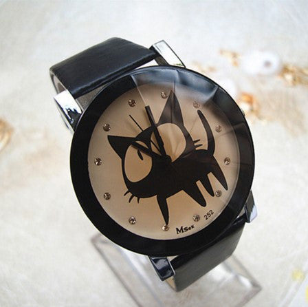 Cat Cartoon Fashion Watch - 70% OFF + FREE SHIPPING
