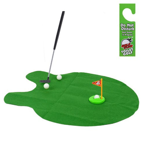 Toilet Golf - Putter Practice - 50% OFF + FREE SHIPPING