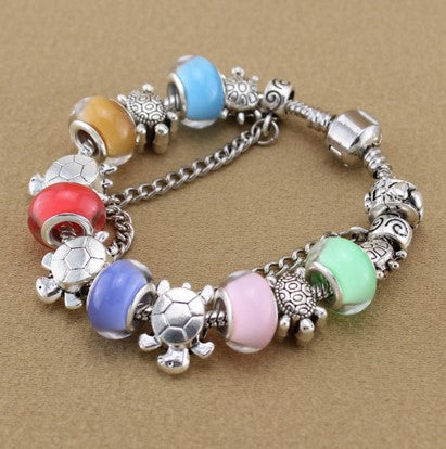 Multicolor Sea Turtle Bracelet - 60% OFF + FREE SHIPPING