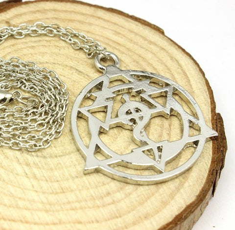 Fullmetal Alchemist Silver Plated Necklace