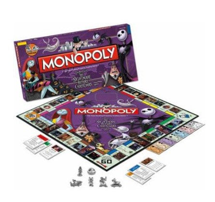 NIGHTMARE BEFORE CHRISTMAS COLLECTOR'S EDITION MONOPOLY BOARD GAME