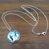 Jack & Sally Glow in The Dark Necklace - 50% OFF + FREE SHIPPING
