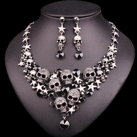 Special Skull Inspired Jewelry Set - 50% OFF + FREE SHIPPING