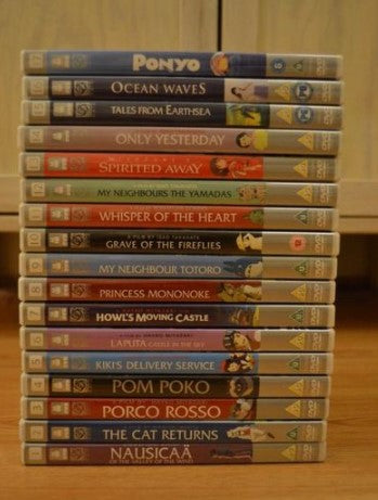 Studio Ghibli Collection 17 movie Miyazaki - 50% OFF + FREE SHIPPING