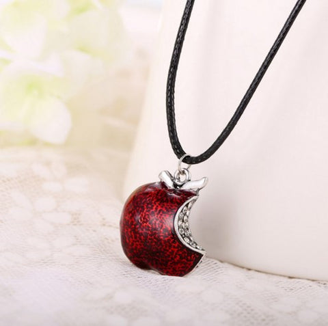 Once Upon a Time Regina Mills Red Apple Necklace