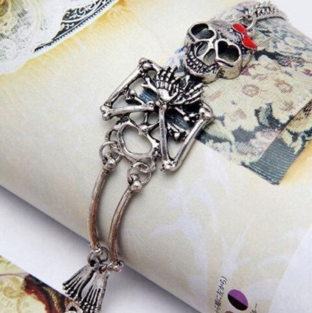 Skeleton Gothic Bracelet - 60% OFF + FREE SHIPPING