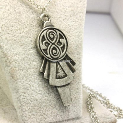 Doctor Who Tardis Key Necklace