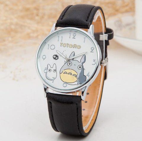 TOTORO LEATHER WATCH - 60% OFF + FREE SHIPPING