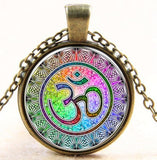 Yoga Ethnic Pendant Necklace