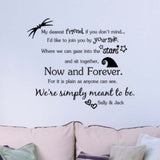 My Dearest Friend Wall Decal Sticker - 50% OFF + FREE SHIPPING