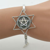 Supernatural Silver Star Bracelet