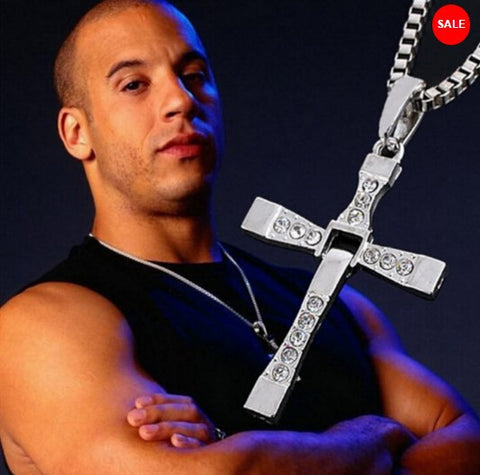 The Fast and Furious Dominic Toretto Cross Pendant Necklace