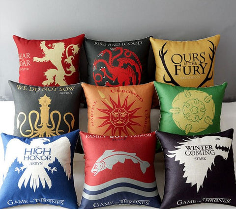 Game Of Thrones Pillow Case - 60% OFF + FREE SHIPPING !