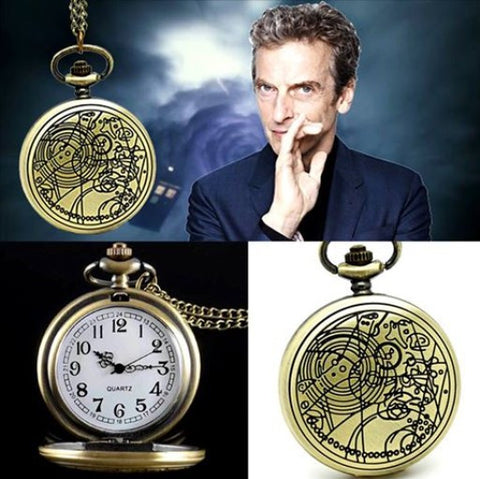 Doctor Who Gallifreyan Pocket Watch