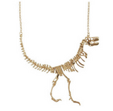 SKULL & BONES NECKLACE - 70% OFF + FREE SHIPPING