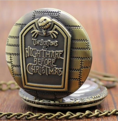 Nightmare Before Christmas Pocket Watch - 70% OFF + FREE SHIPPING