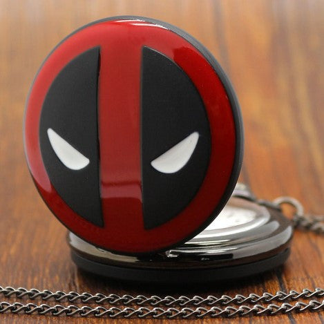 Deadpool Altman Cover Pocket Watch