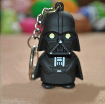 DARTH VADER LED FLASHLIGHT KEYCHAIN - 60% OFF + FREE SHIPPING
