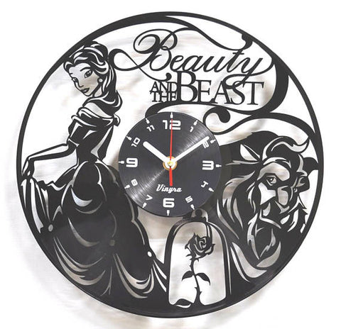 Beauty and The Beast Wall Clock - 50% OFF + FREE SHIPPING