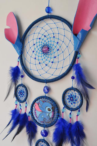 Lilo and Stitch Handmade Dream Catcher