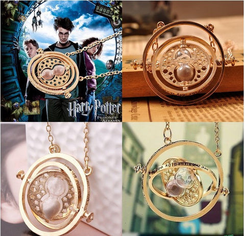 Hermione Rotating Time Turner Pendant
