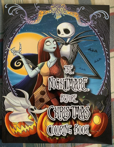 Jack and Sally Coloring Book Edition
