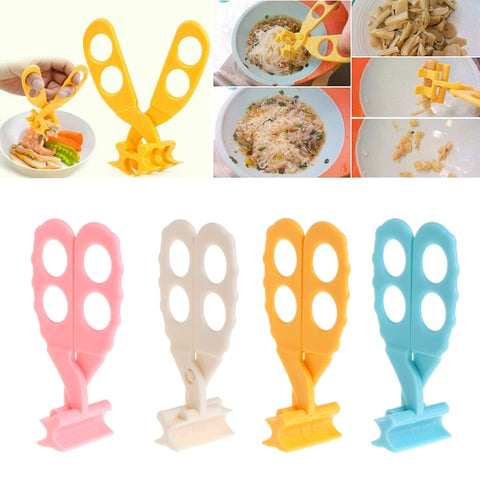 Professional Safe Care Baby Food Scissors