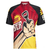 Beer Cycling Short Sleeve Jersey
