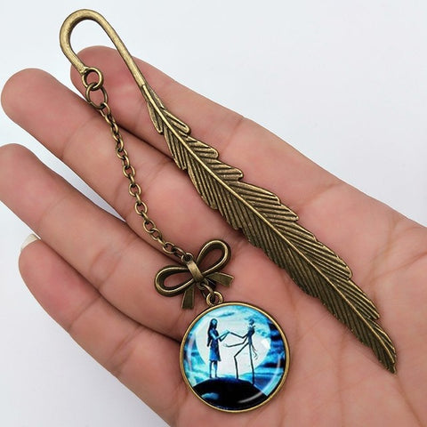 Jack Shaped Long Chain Bookmark