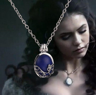 Vampire Diaries Elena Stone Necklace