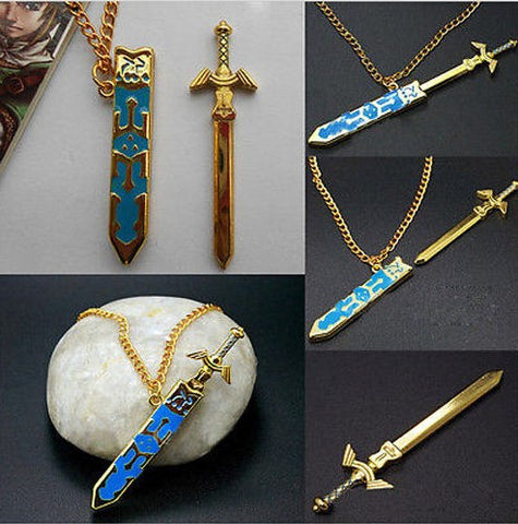 Legend of Zelda Removable Master Sword Necklace Pendant