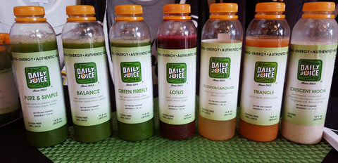 Daily Juice Variety Cleanse with Triangle