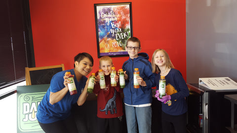 Frame Kiddos Keen Chiropractic ATX Daily Juice