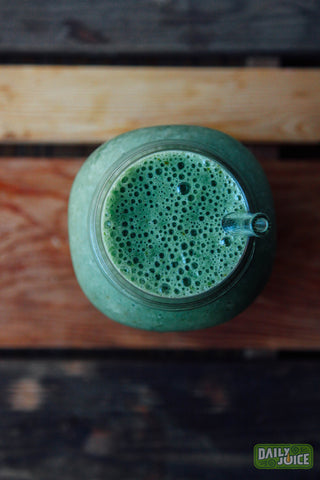 Green and healthy smoothie!