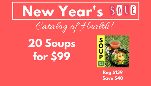 PRE-PAID SOUPS - New Year's Special