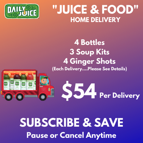 Juice, Food & Shots Delivered