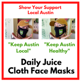 Daily Juice Brand Cloth Face Masks