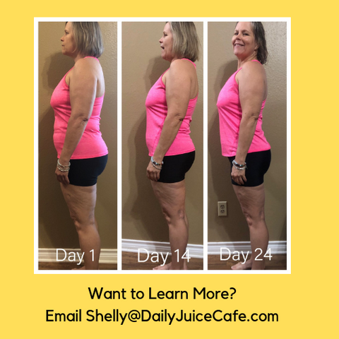 3 Day Cleanse - Finish with Shelly