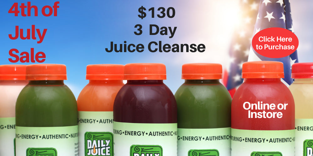 New Year Specials - Prepaid items and discount cleanses