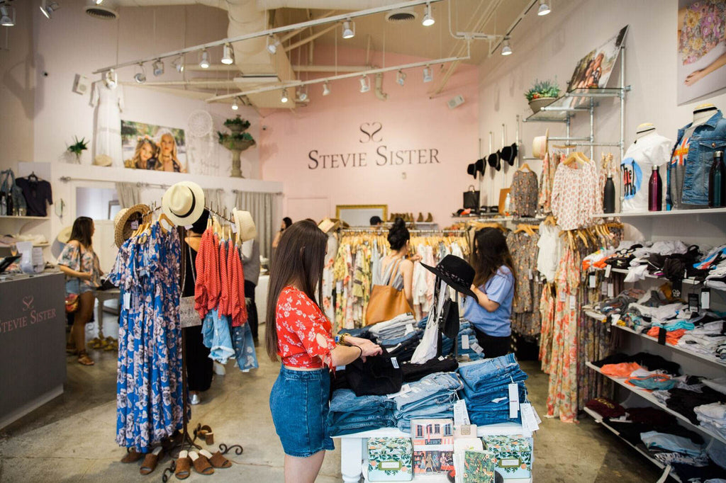 This bohemian style piece is designed by Stevie Sister, a bohemian inspired boutique with a chic take on fashion in Newport Beach, Fashion Island.