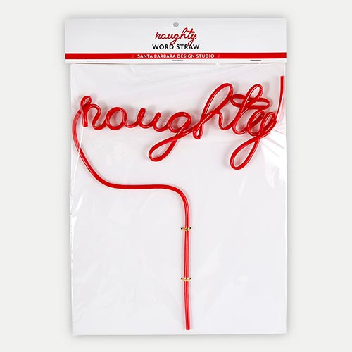 Word Straw - Naughty