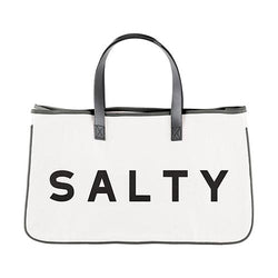 Salty Canvas Tote